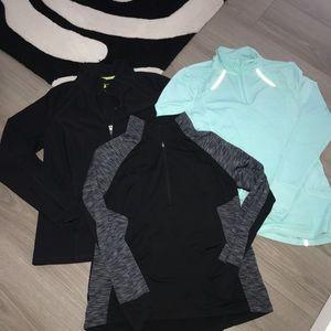 Bundle of 3 workout shirts Sz xl